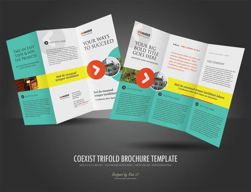 Tri fold Brochure Template ‹ PsdBucket.com