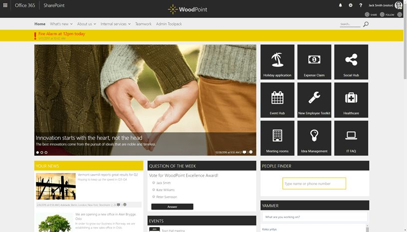 Review of Valo Intranet: Ready-to-go intranet on Office 365 and ...