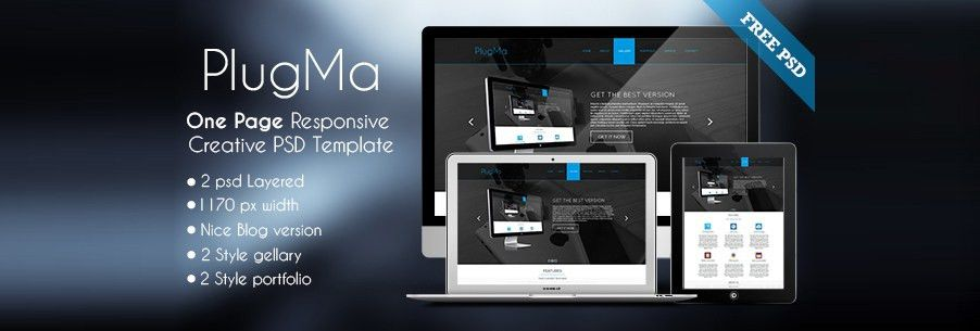 Free Corporate and Business Web Templates PSD