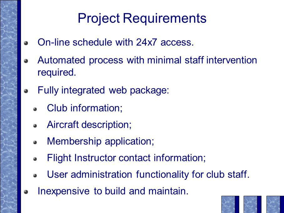 A Web-Enabled Aircraft Scheduler Michael Wallette 20 Nov ppt download
