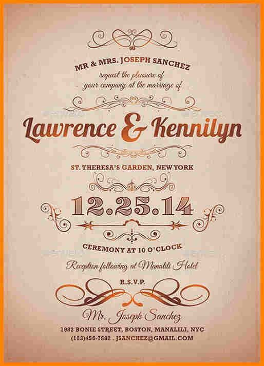 8+ formal invitation | budget template