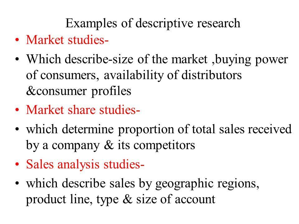 Business Research Methods Research Design. Classification of ...