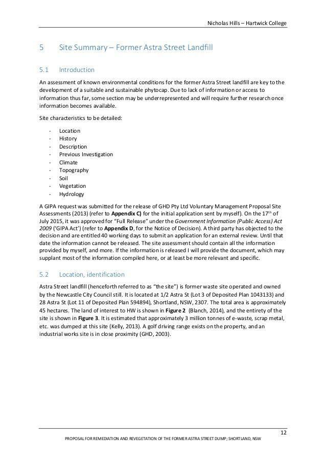 Nicholas Hills Final Paper - HWCA