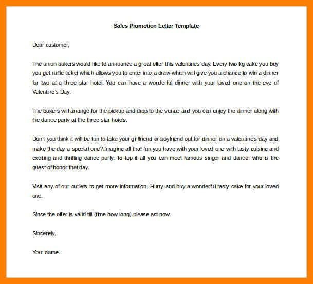 Promotion Letter Sample. Promotional Resume Sample - Best Letter ...