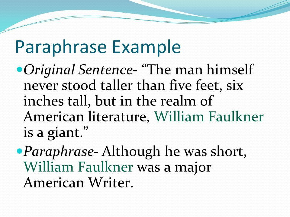 Note-taking Paraphrase, Quote, Summary, Citation. - ppt video ...