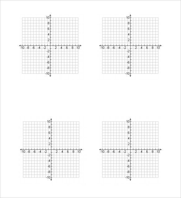 Graphing Paper Template – 10+ Free PDF Documents Download!   Free ...