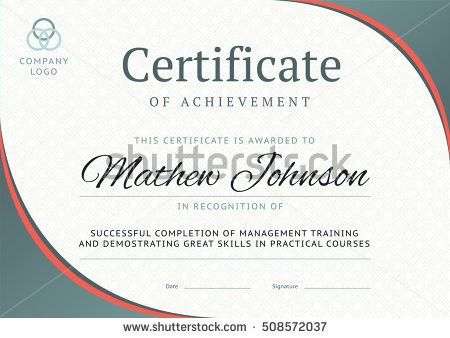 Certificate Of Completion Stock Images, Royalty-Free Images ...