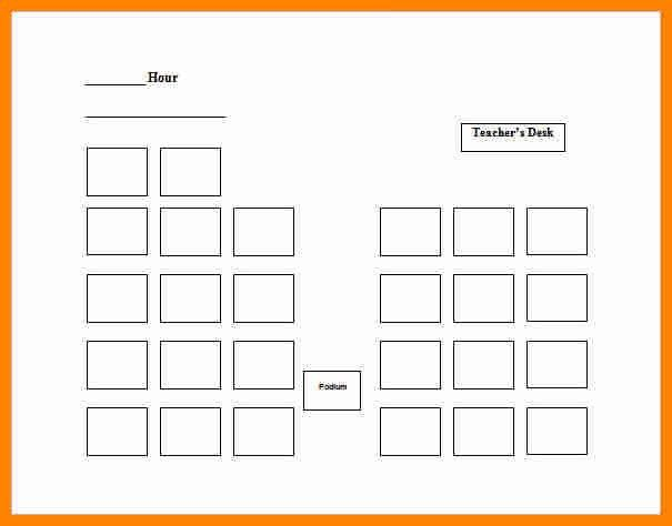 6+ free classroom seating chart template | job resumed