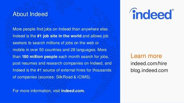 Finding Your Next Great Hire With Indeed Resume