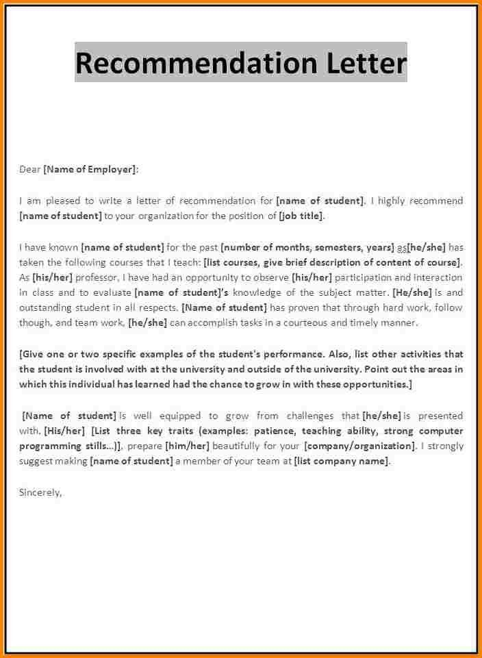 10+ reference letter template for student | quote templates