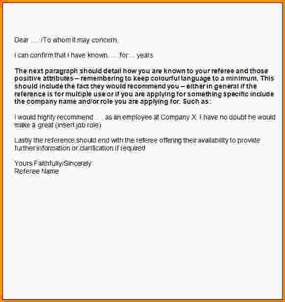 Personal Letter Template.Personal Reference Letter Template.jpg ...