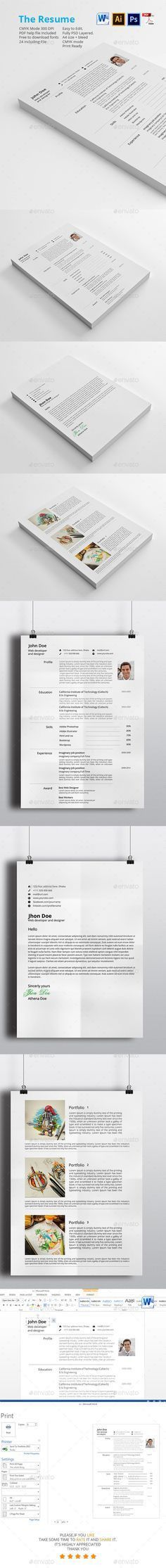 Dj / Musician Press Kit / Resume PSD Template | Download ...