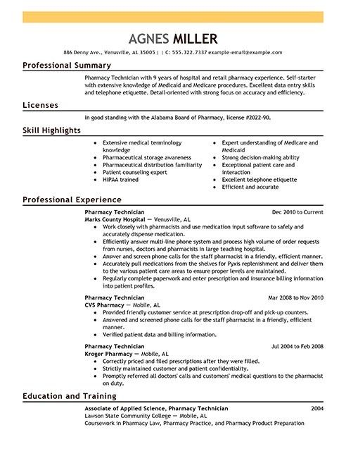 Sample Tech Resume [Template.billybullock.us ]