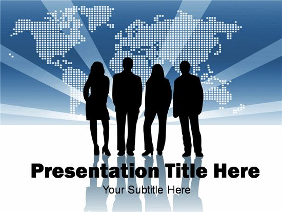 Team Business Templates for Powerpoint Presentations, Team ...