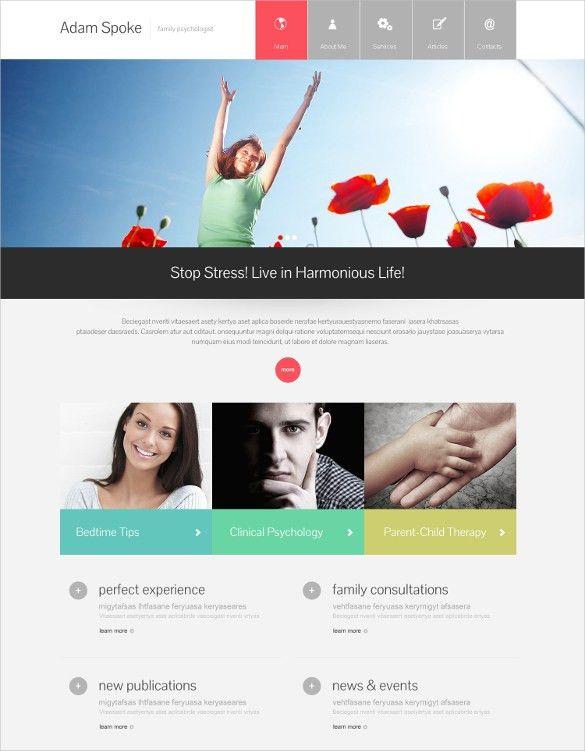 14+ Psychologists WordPress Themes & Templates | Free & Premium ...