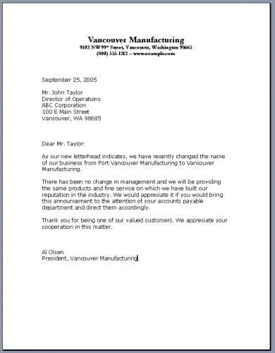 Cover letter and salutation