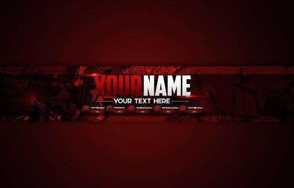 22+ YouTube Channel Art Templates – Free Sample, Example, Format ...