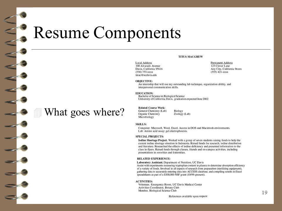 RESUME WRITING Presenting Yourself on Paper - ppt download