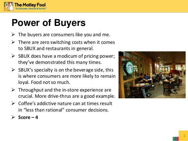 Starbucks Porter's Five Forces