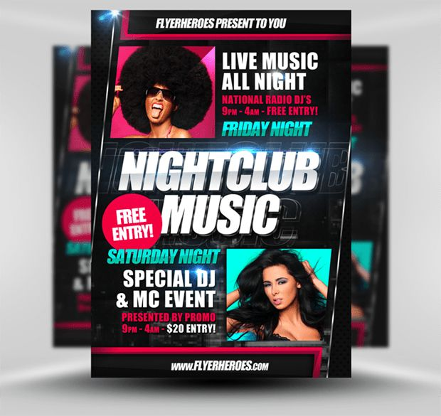 Limited Offer - Get Flyerheroes.com Club Flyer Templates Bundles ...
