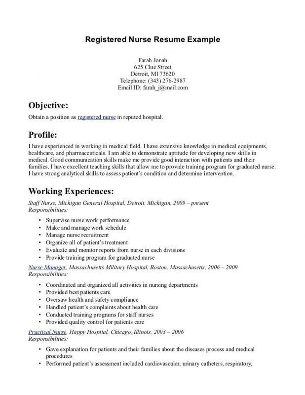 telemetry nursing resumes