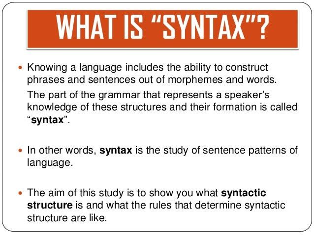 10. syntax (syntax & phrases)