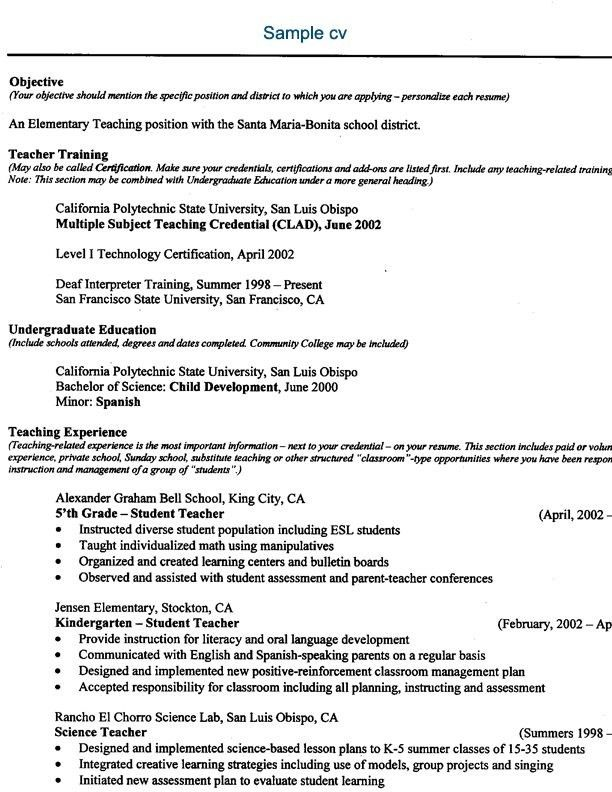 Online Teaching Resume - Best Resume Collection