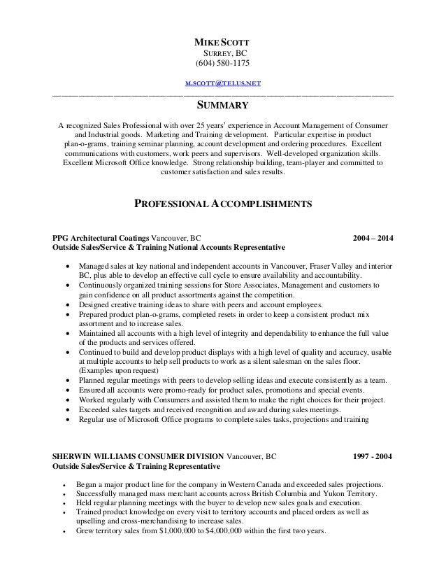 MScott Resume
