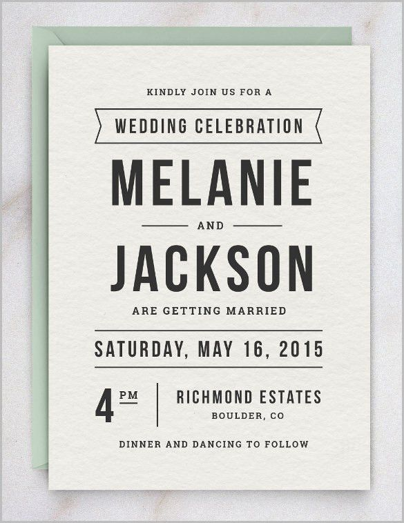 free formal invitation template