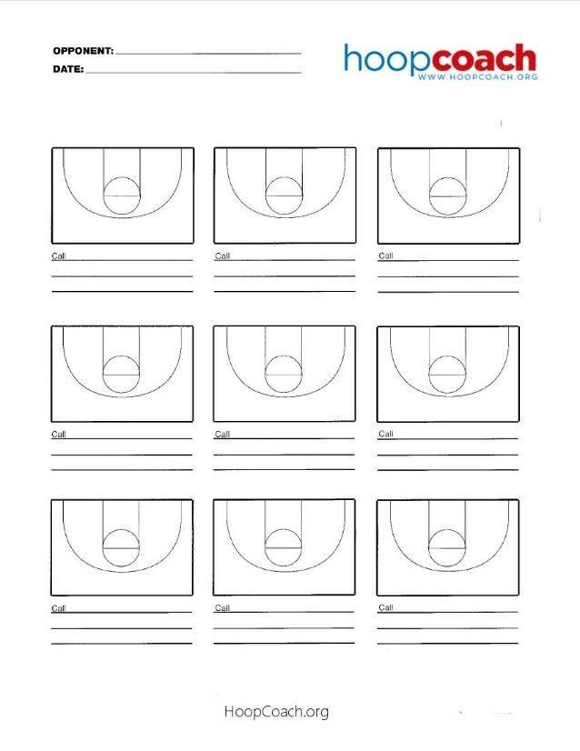 Basketball Court Templates - Contegri.com