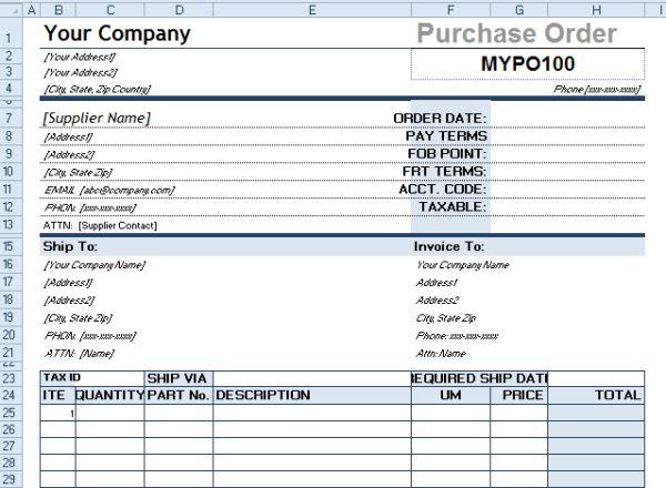 Procurement Templates & Tools