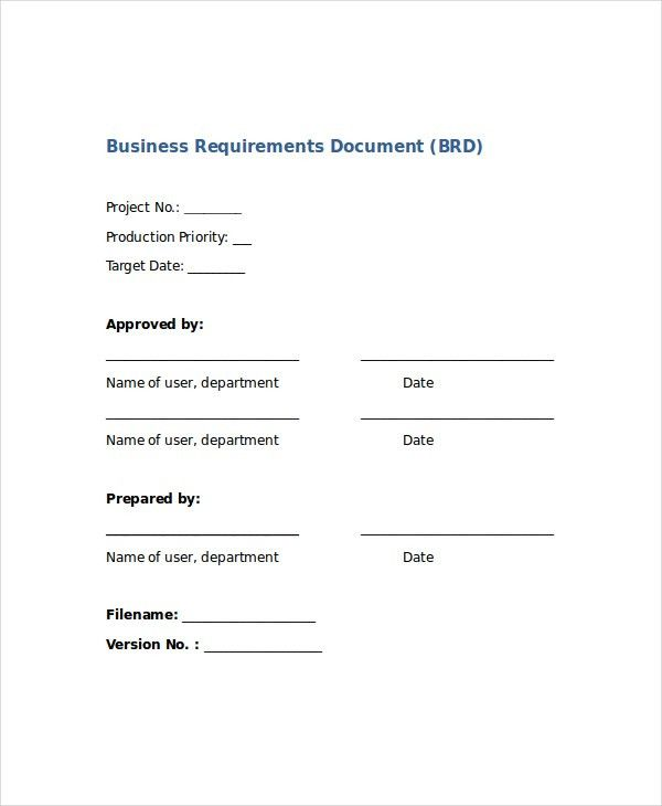 Word Business Template - 8+ Free Word Document Downloads | Free ...