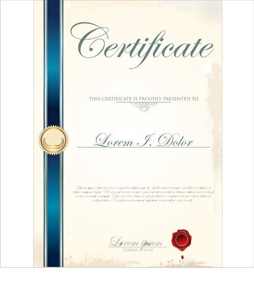 certificate template vector - Page 3 of 4 for free download