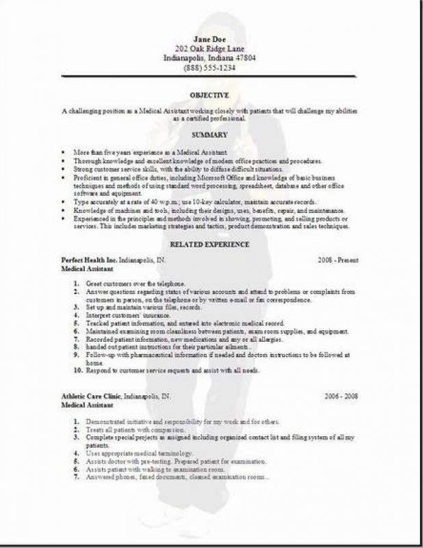 Medical Resumes Examples. Office Administration Medical Sample ...