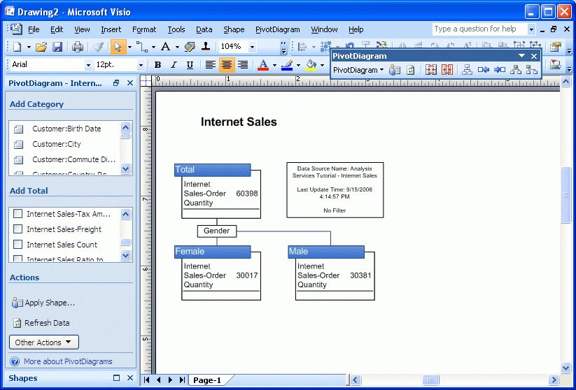 Integrating Visio 2007 and Microsoft SQL Server 2005