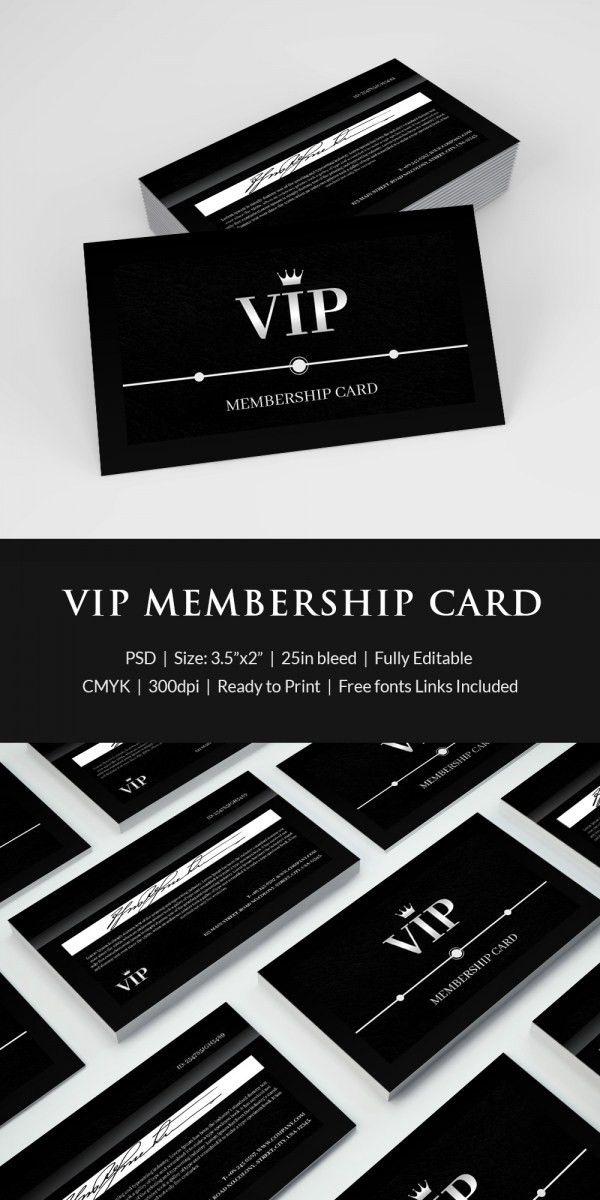 Free Membership Card Template - Contegri.com