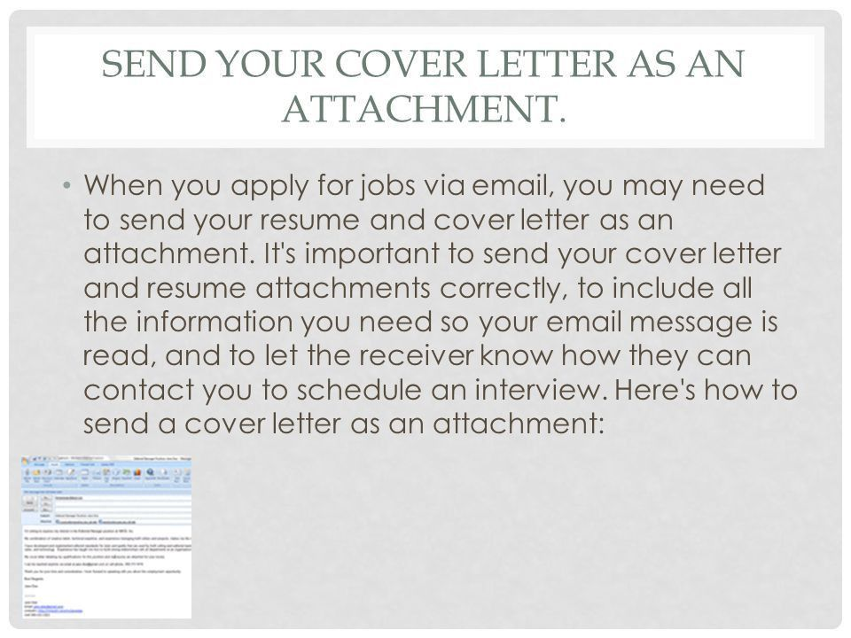 sending resume and cover letter via email marketing resume