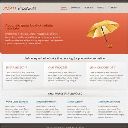 Free business html templates free website templates for free ...