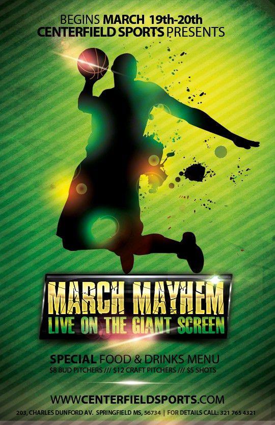 Free Basketball Flyer Templates on Behance
