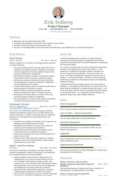 Download Project Manager Resume Samples | haadyaooverbayresort.com