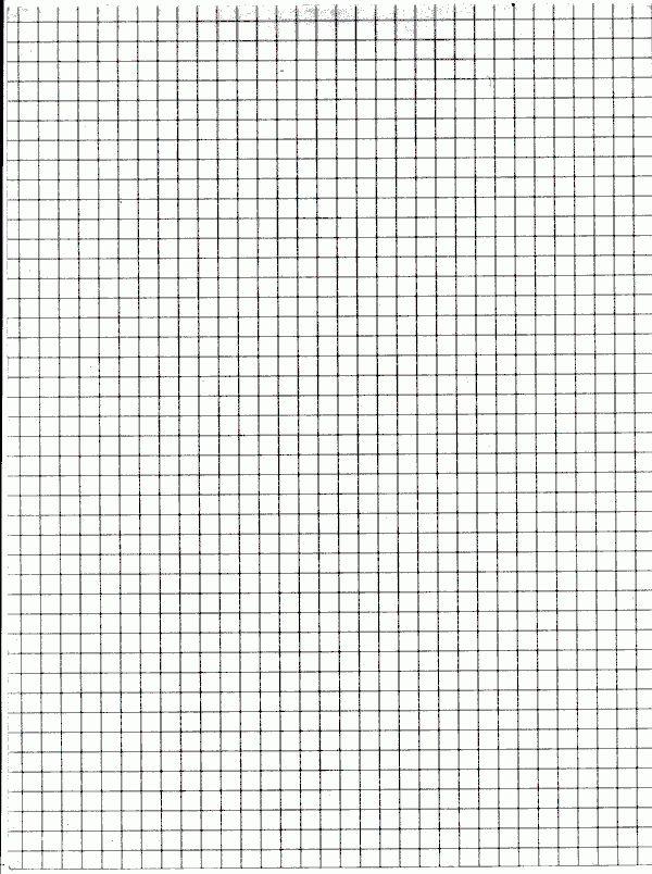 13 Graph Paper Templates - Excel PDF Formats