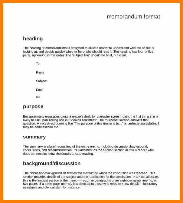10+ formal memo template | resume pictures