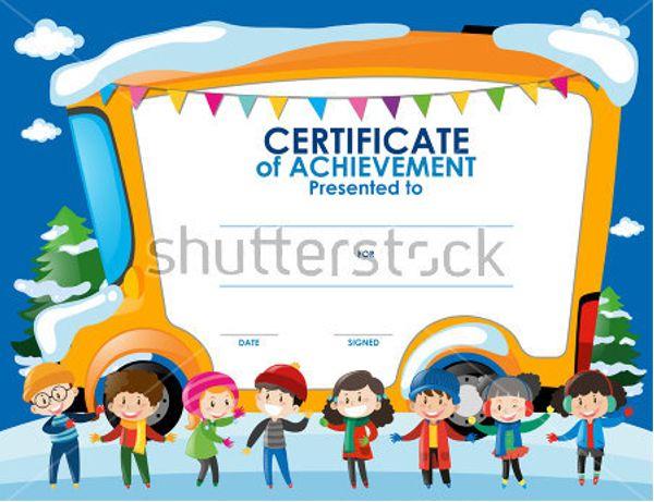 Kids Certificates Templates Free & Premium Templates | Creative ...