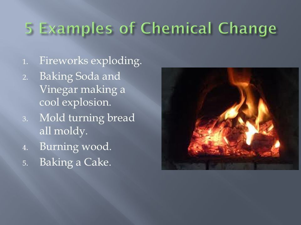 Change of the Physical and Chemical Varieties - ppt video online ...