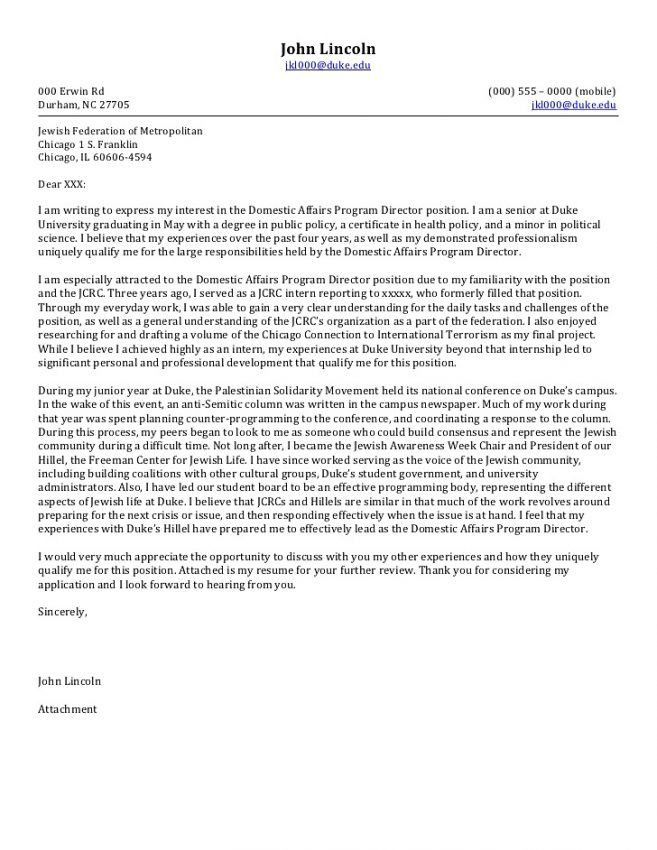 10 Executive Director Cover Letter Sample Cover Letter executive ...