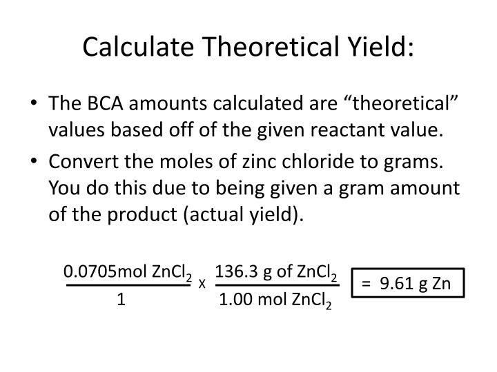 What Is The Equation For Percent Yield - Jennarocca