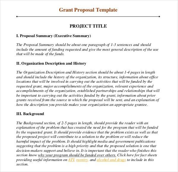 11+ Grant Writing Templates – Free Sample, Example Format Download ...