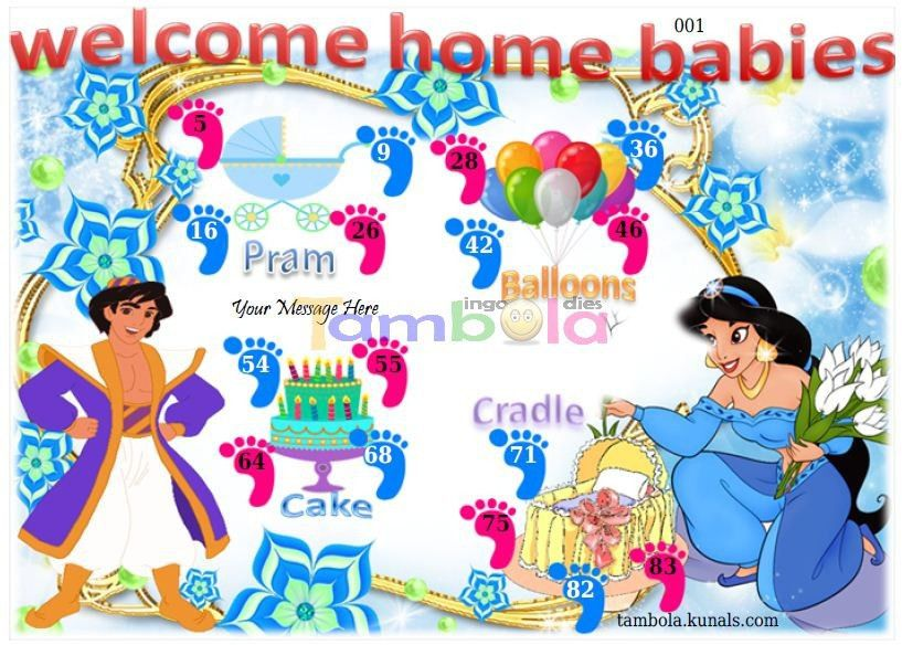 Baby Shower anywhere 4 in 9x4 format :Templates Tickets | Baby ...