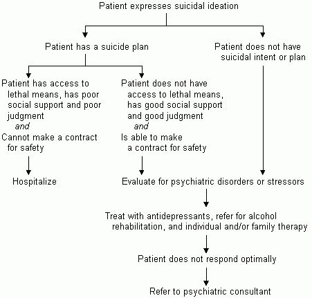 Evaluation and Treatment of Patients with Suicidal Ideation ...