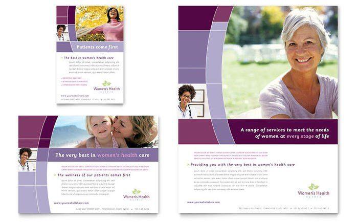 Women's Health Clinic Flyer & Ad Template Design